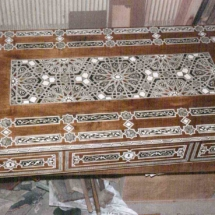Arabic desk from the 17th century
