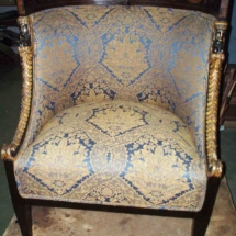 British Regency armchair from XIX century
