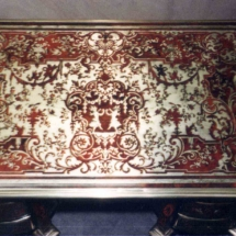 Louis XIV style Desk with Boulle marquetry from the 17th century (2)