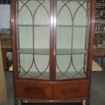 Edwardian style vitrine from XIX century