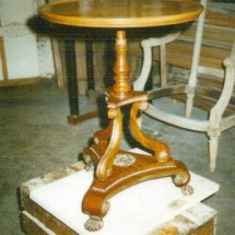 English Regency style pedestal table