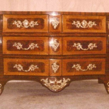 French regency style chest of drawers from 18th century
