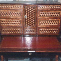 French transitional style desk from the 18th century (2)