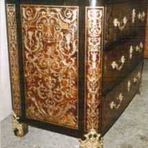 Louis XIV style commode in Boulle marquetry from 17th century 3