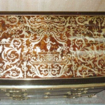 Louis XIV style commode in Boulle marquetry from 17th century 4