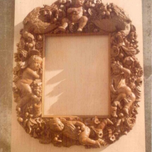 Louis XIV style mirror frame