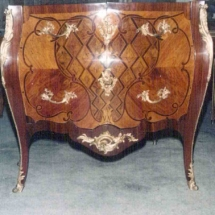 Louis XV style commode from 18th century