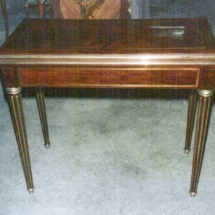 Louis XVI style console table from the 18th century