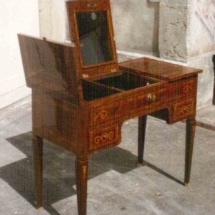 Louis XVI style toilette table from the 18th century