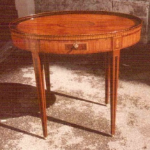Louis XVI style center table from the 18th century