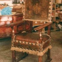 Medieval Spanish Armchair