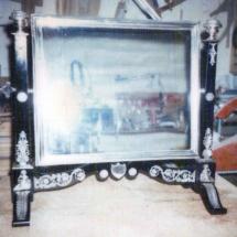 Napoleon III style mirror