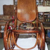 Spanish rocking chair from 20th century