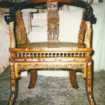 Thai armchair from the 19th century