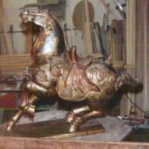 Thai polychrome sculpture