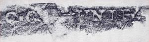C.C. Saunier trace paper