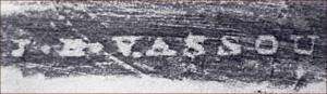 J. B. Vassou trace paper